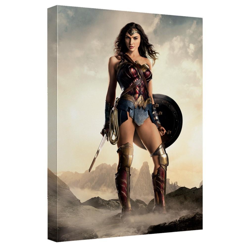Justice League Wonder Woman 16x20 Canvas Print