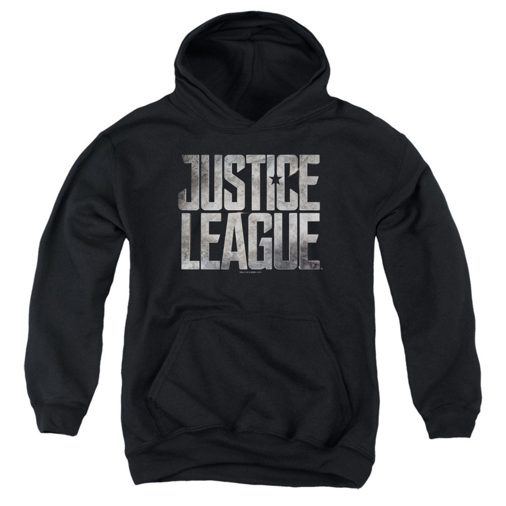 Justice League Logo Youth Hoodie