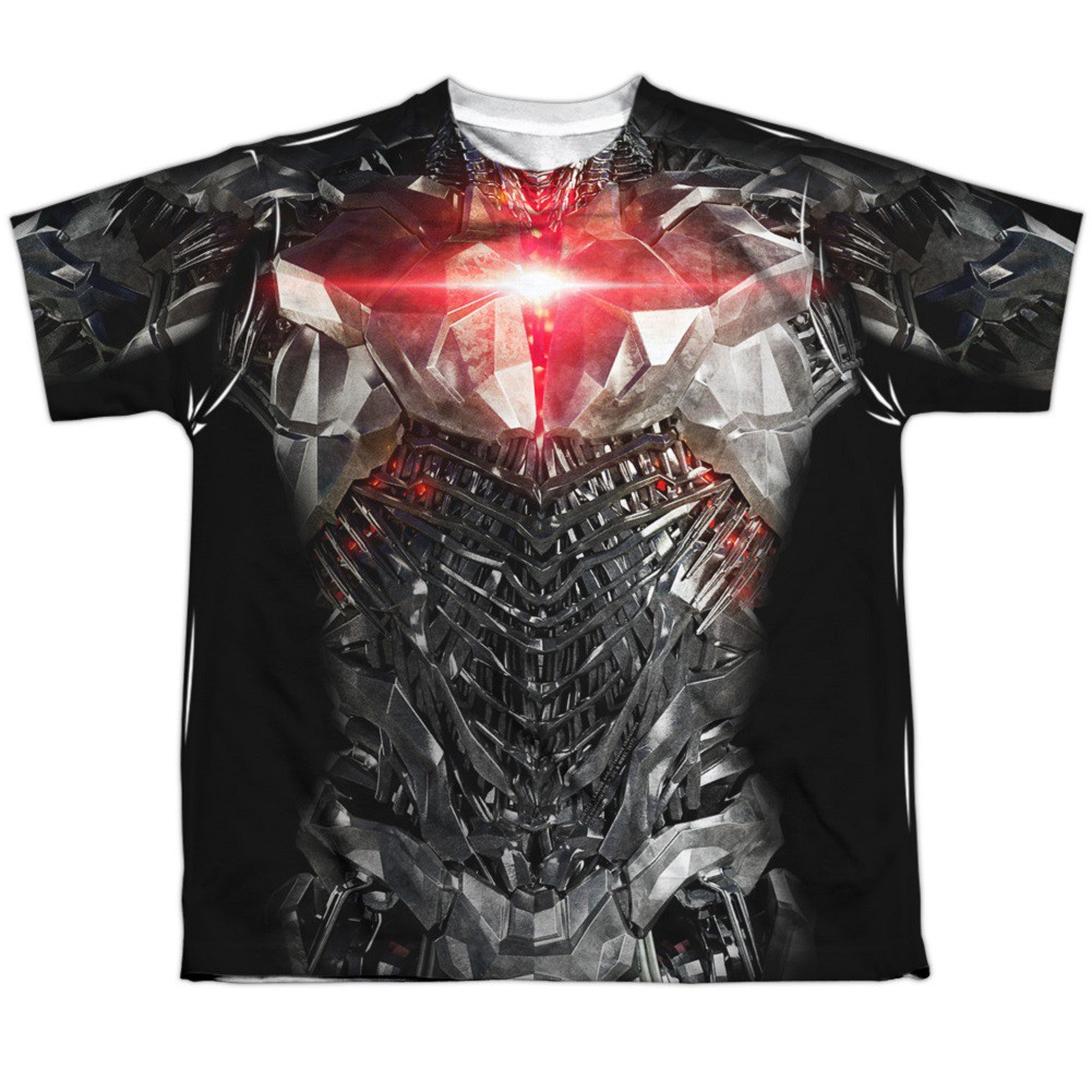 Cyborg Justice League Youth Costume Tee