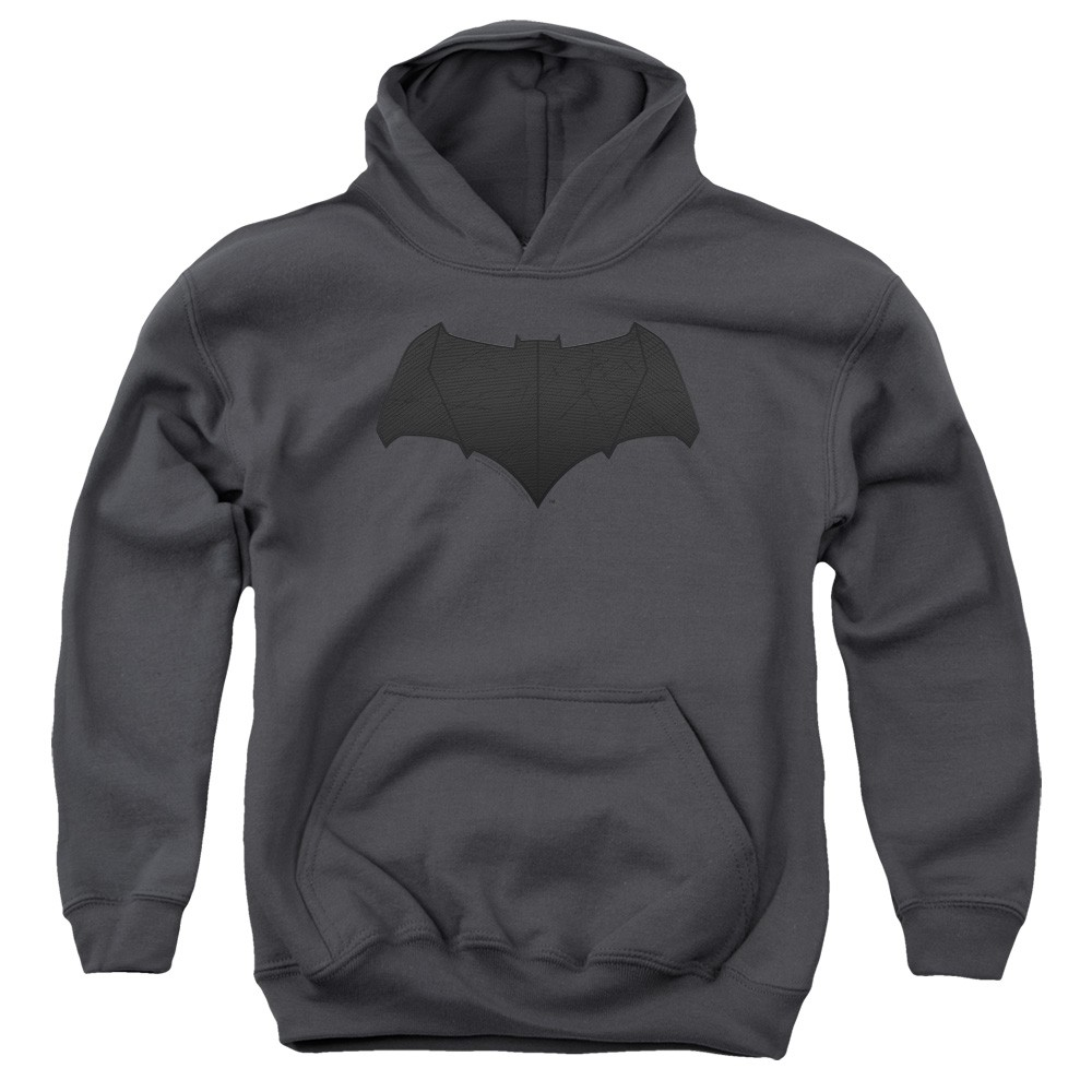 Justice League Batman Logo Youth Hoodie