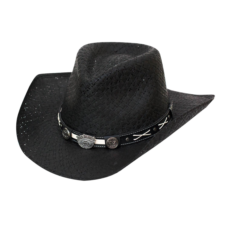 Jack Daniels Straw Cowboy Hat
