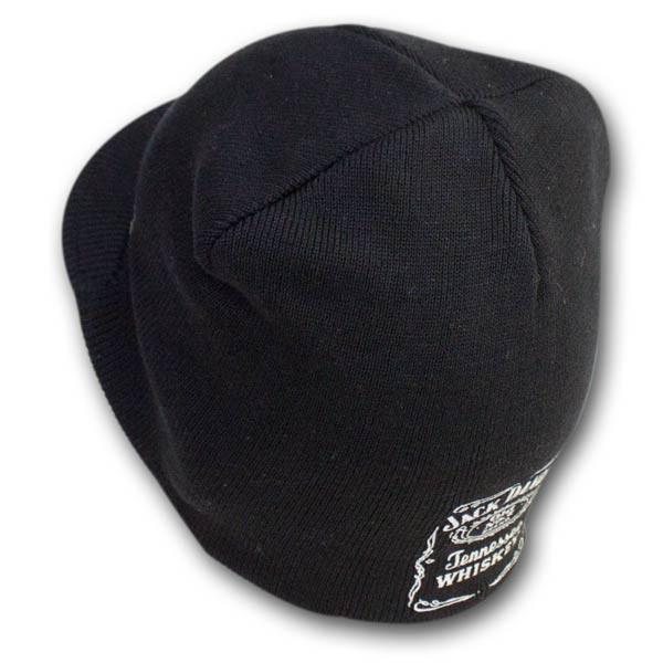 Jack Daniels Knit Winter Brim Beanie Hat