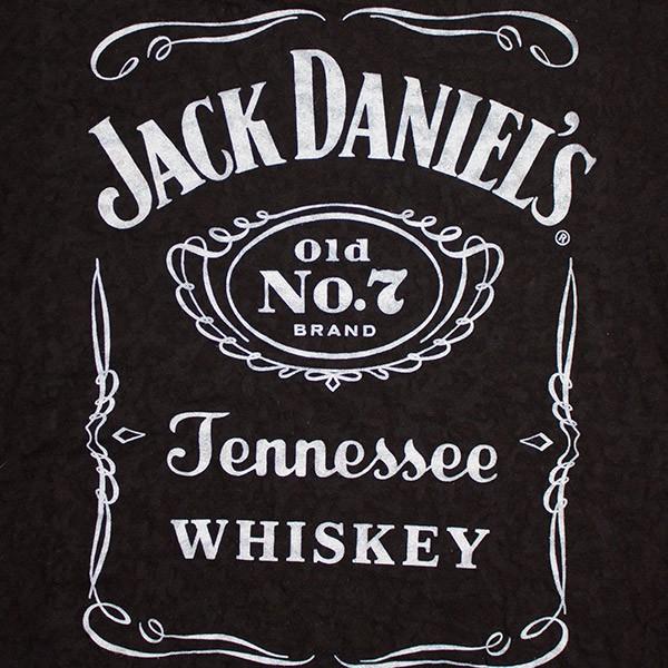 Jack Daniel's Burnout Junior Women's Shirt - Black