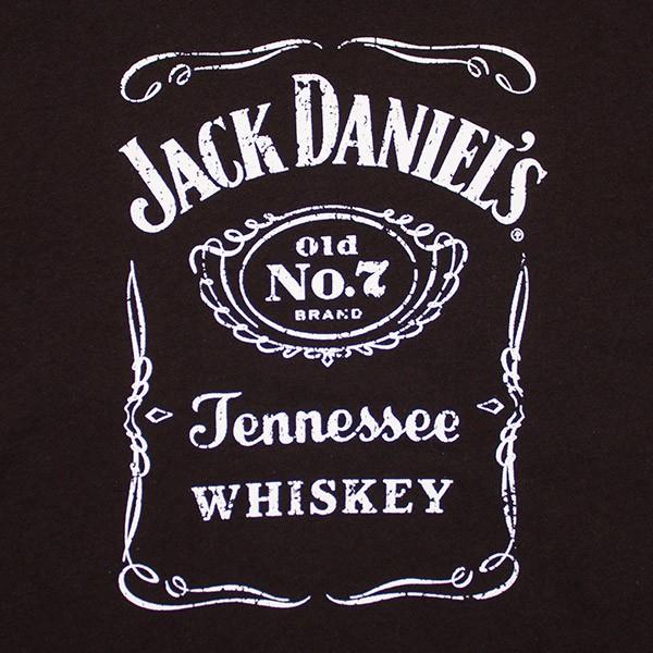 Jack Daniel's Classic Women's V-Neck Shirt - Black