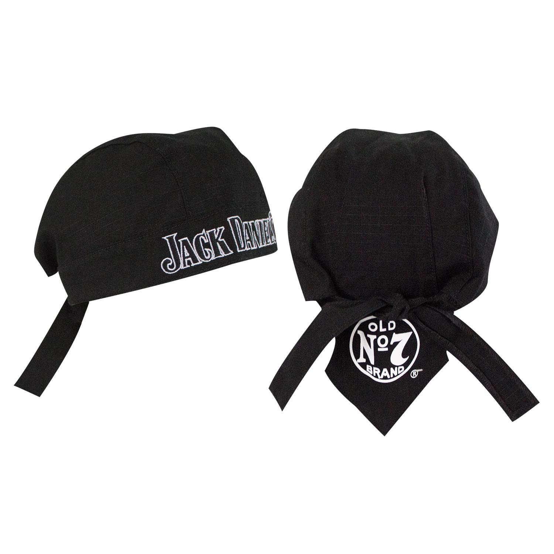Jack Daniels Black Skull Cap