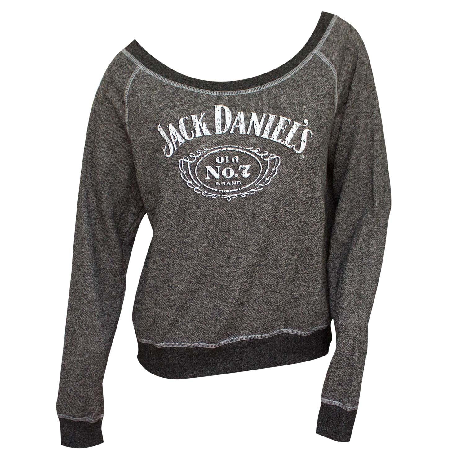 Jack Daniel's French Terry Women's Pullover Sweatshirt