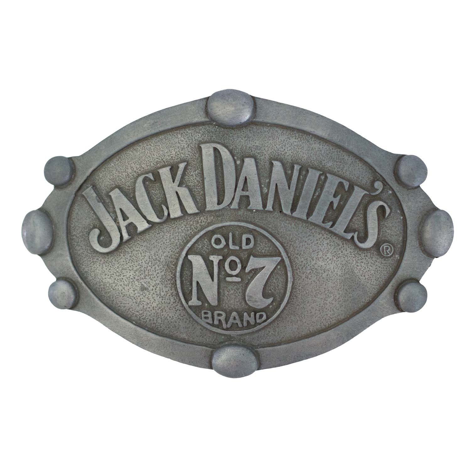 Jack Daniels Oval Belt Buckle