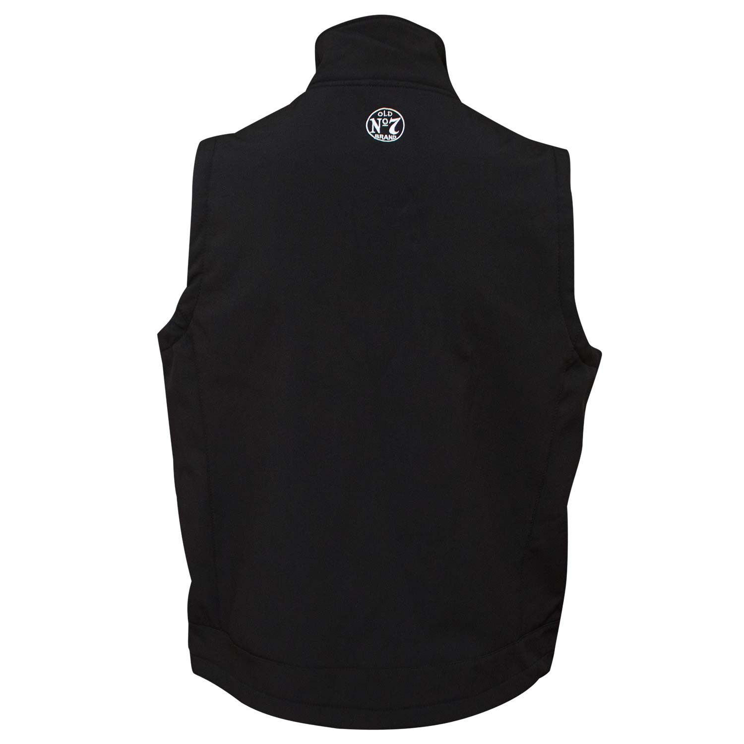 Jack Daniel's Softshell Zip-Up Men's Black Vest