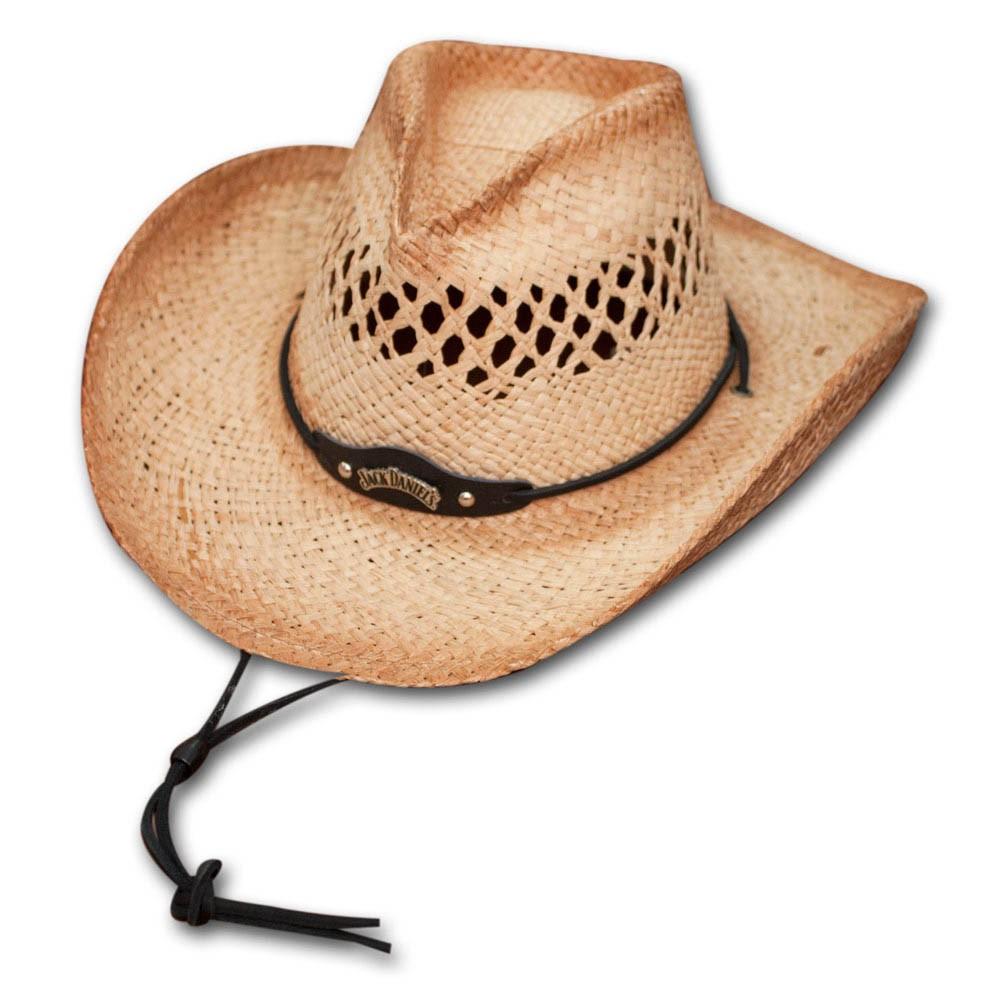 60d926388 Jack Daniels Straw Cowboy Hat. $49.99