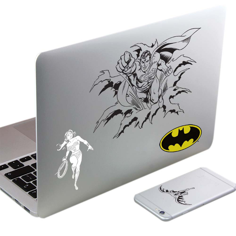 Justice League Laptop And Cellphone Decals