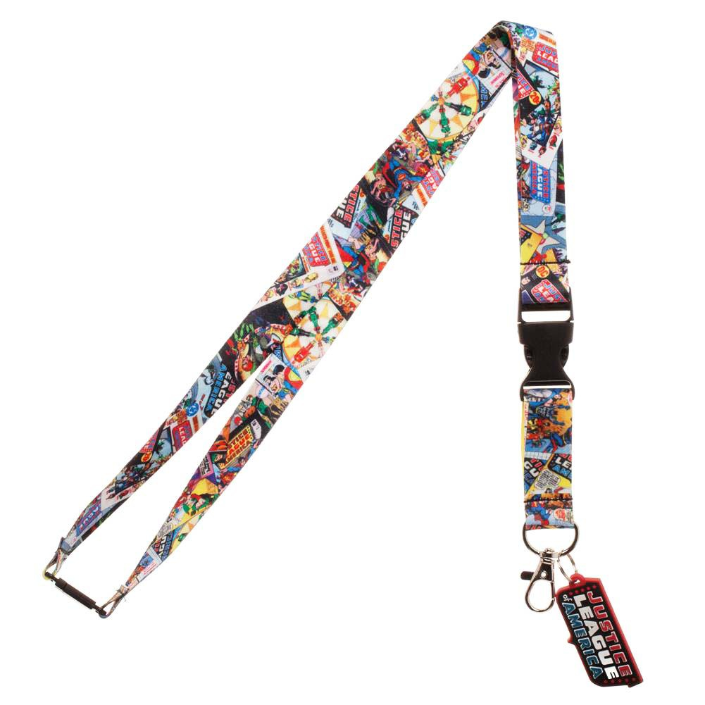 Justice League Comic Lanyard
