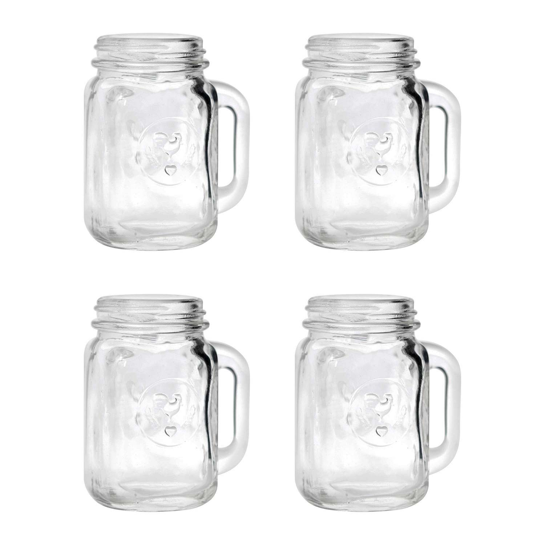 Mason Jar Shot Glass Set