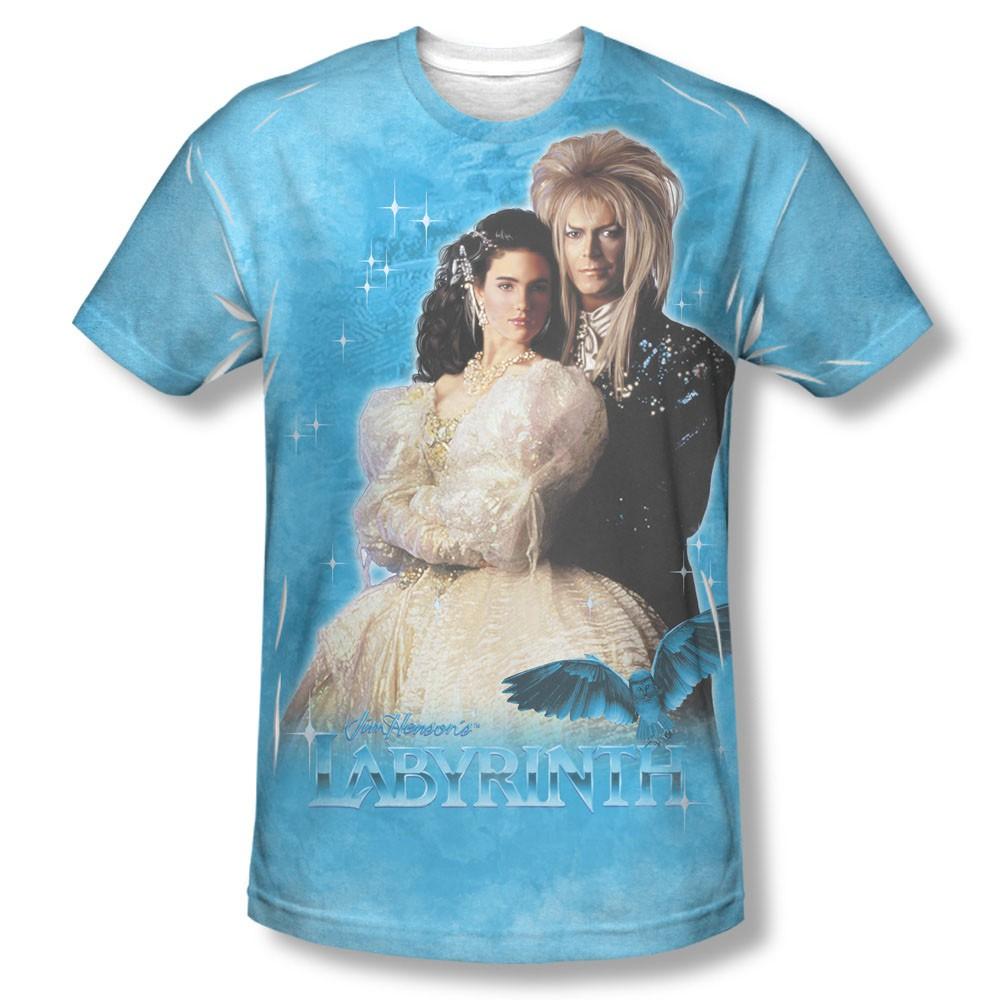 Labyrinth A Dream Blue Sublimation T-Shirt