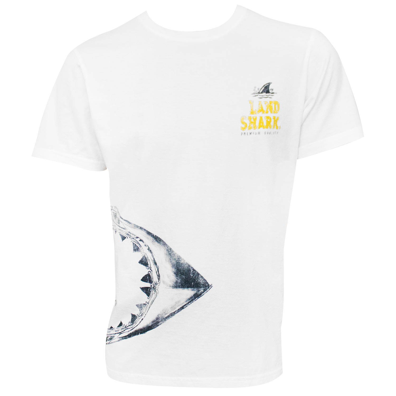 Landshark Jaws White Tshirt
