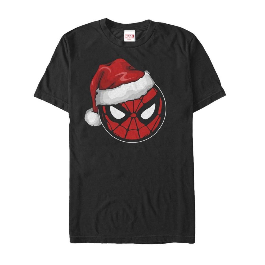 Spiderman Santa Hat Tshirt