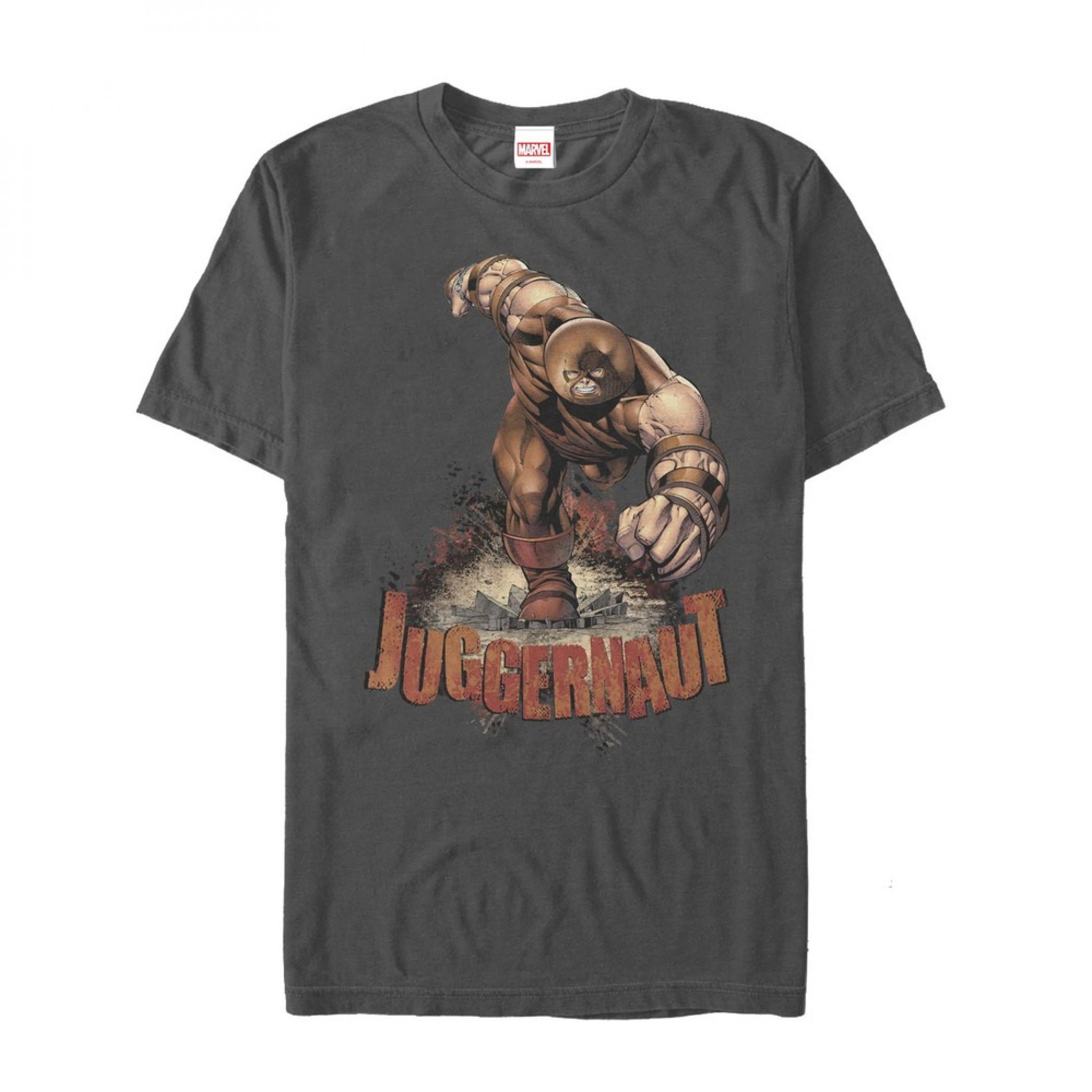 X-Men Juggernaut Charging T-Shirt