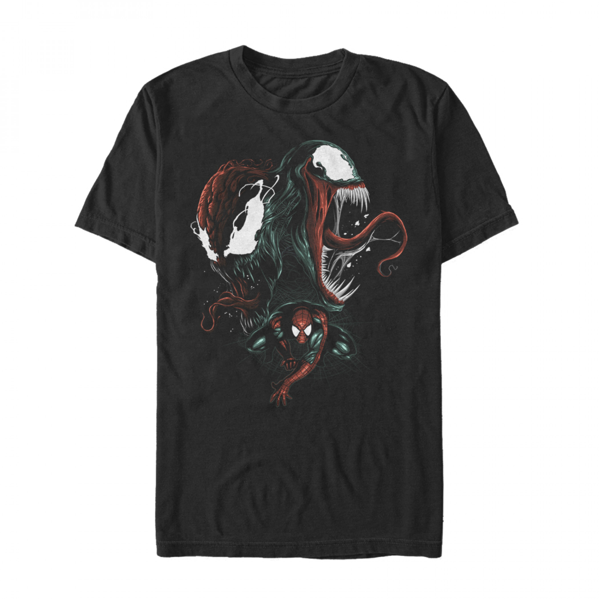 Spider-Man Venom and Carnage Bad Conscience T-Shirt