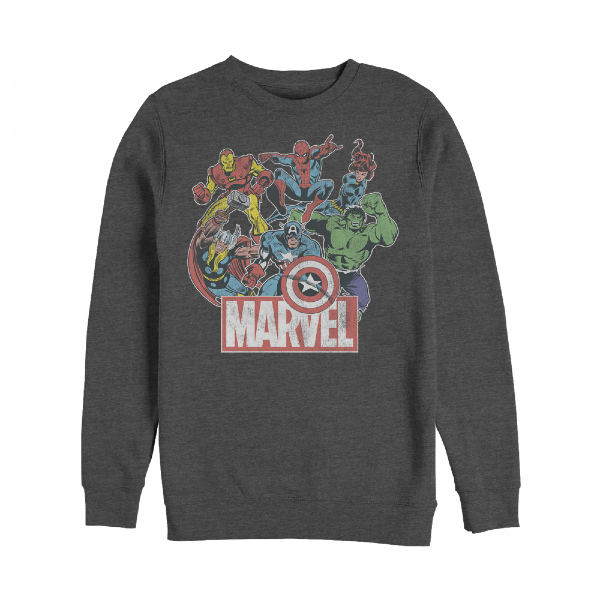 Marvel Classic Hero Collage Sweatshirt