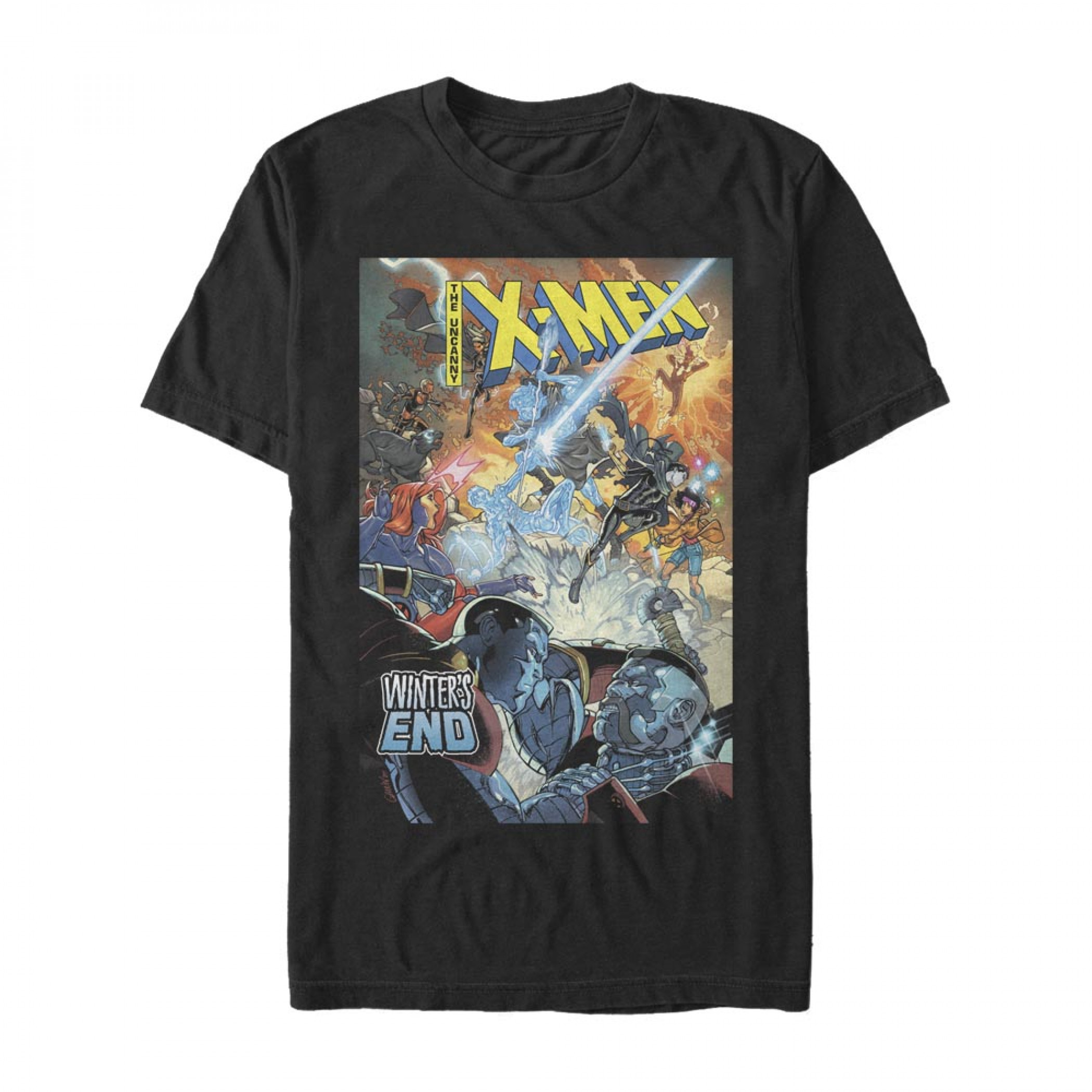 X-Men Winter's End Cover T-Shirt