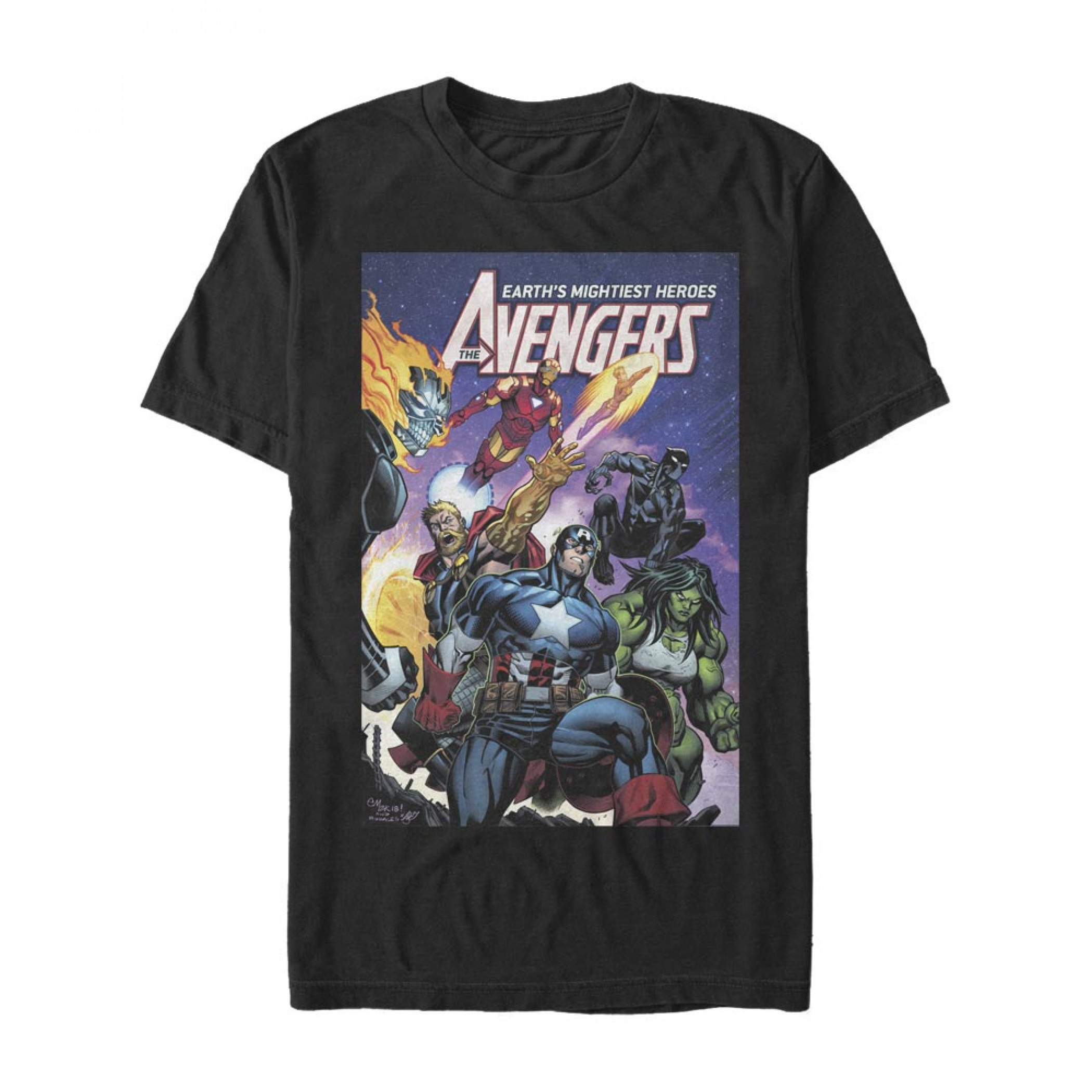 Avengers Earths Mightiest Heroes T-Shirt