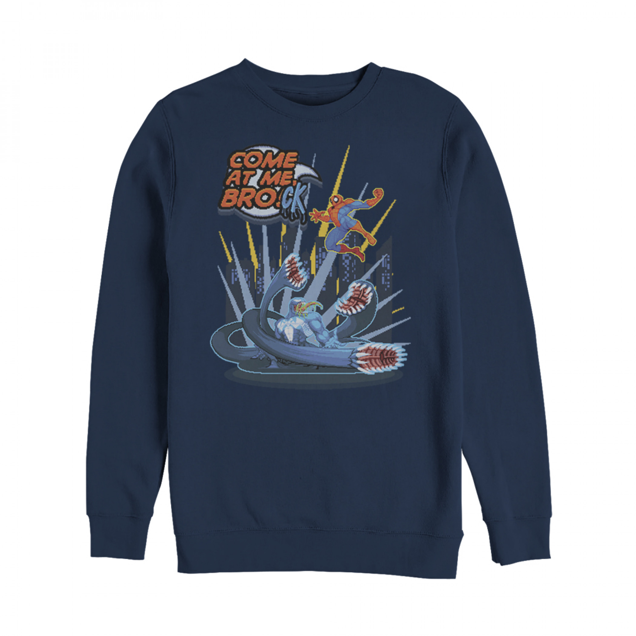 Marvel Spider-Man Come at Me Brock Sweatshirt