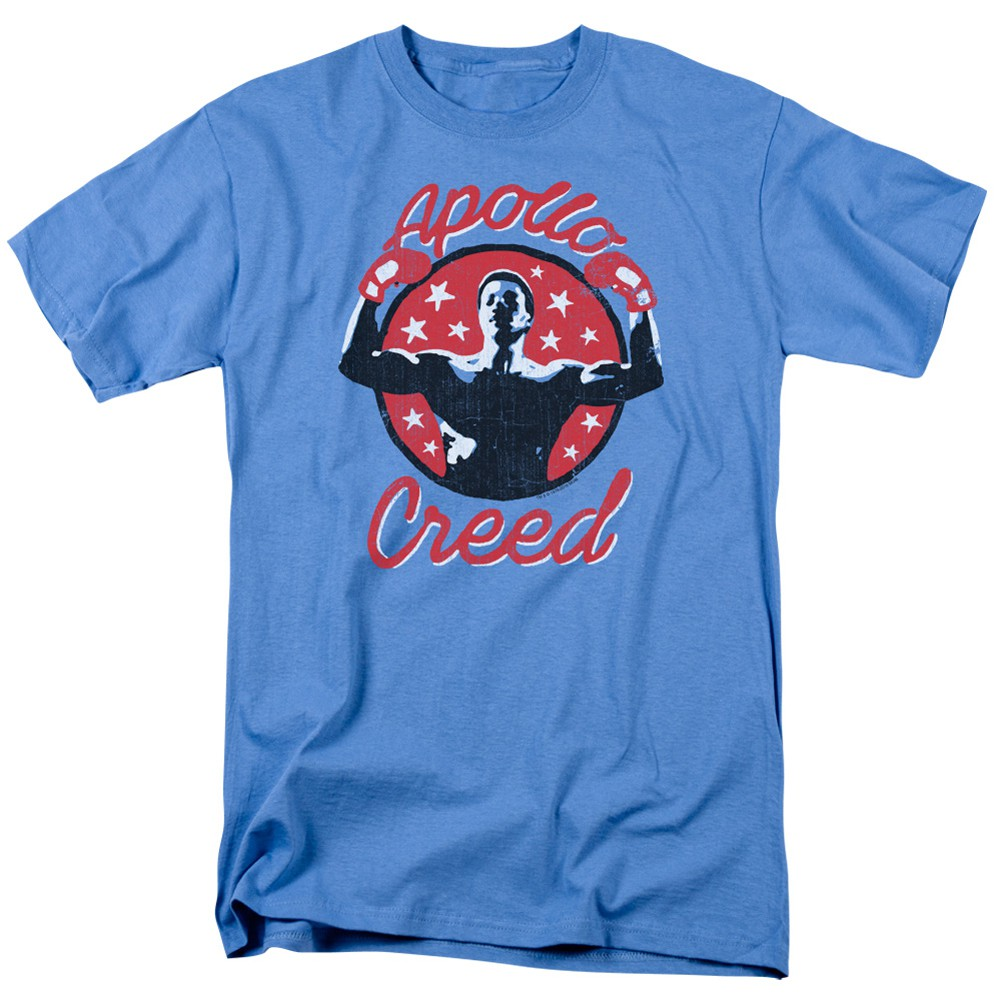Rocky Apollo Creed Crest Blue Tshirt
