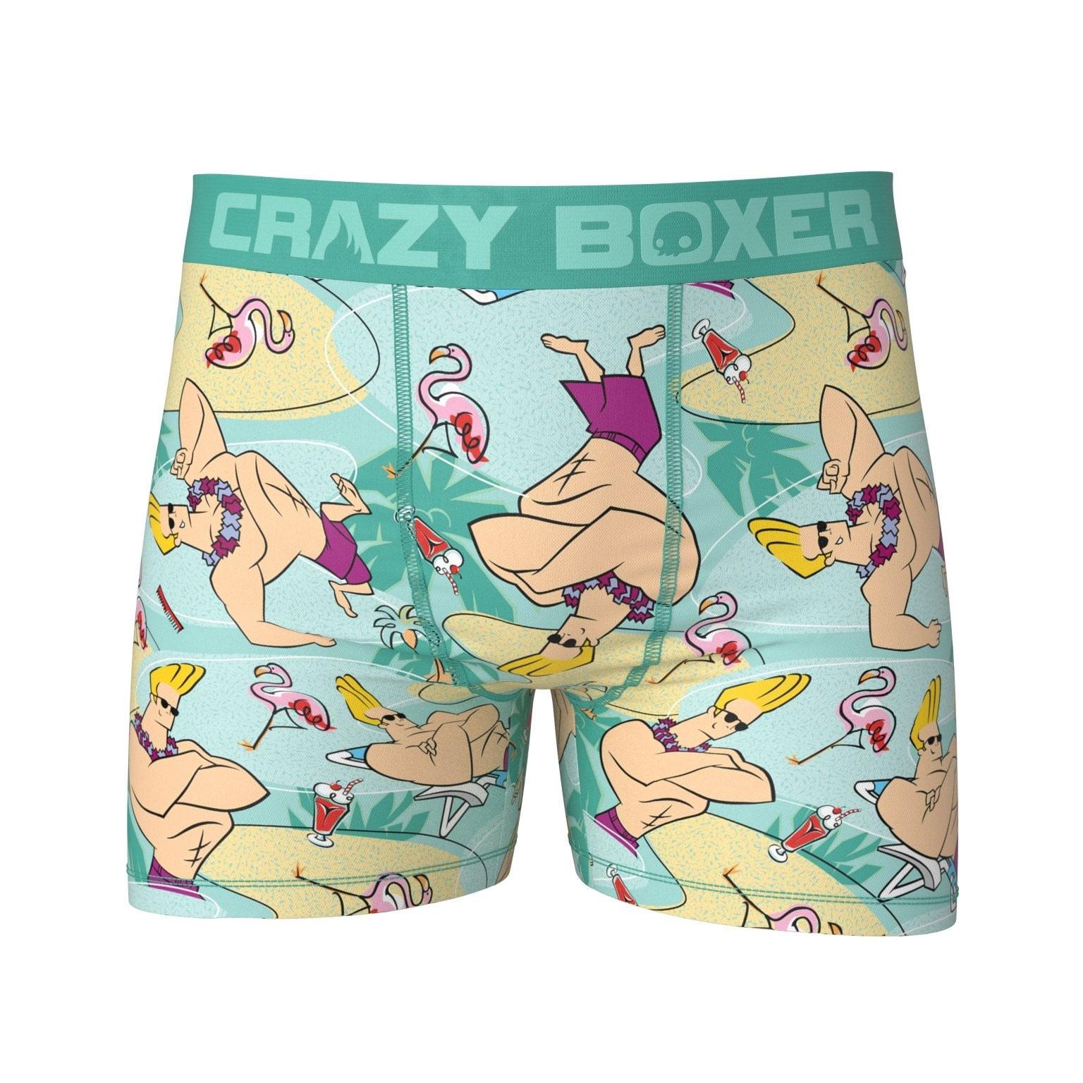 Johnny Bravo Tropical Boxer Briefs