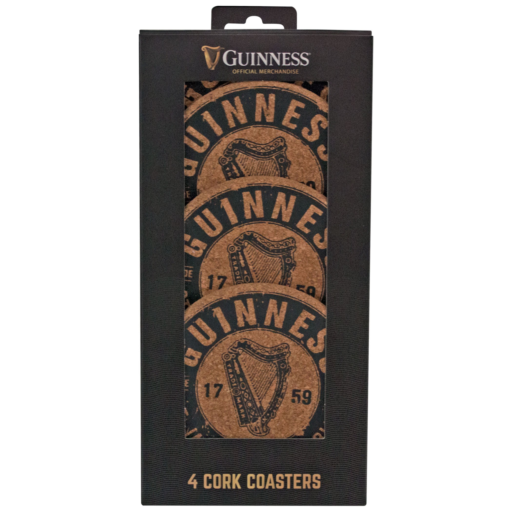 Guinness Cork Coaster Set