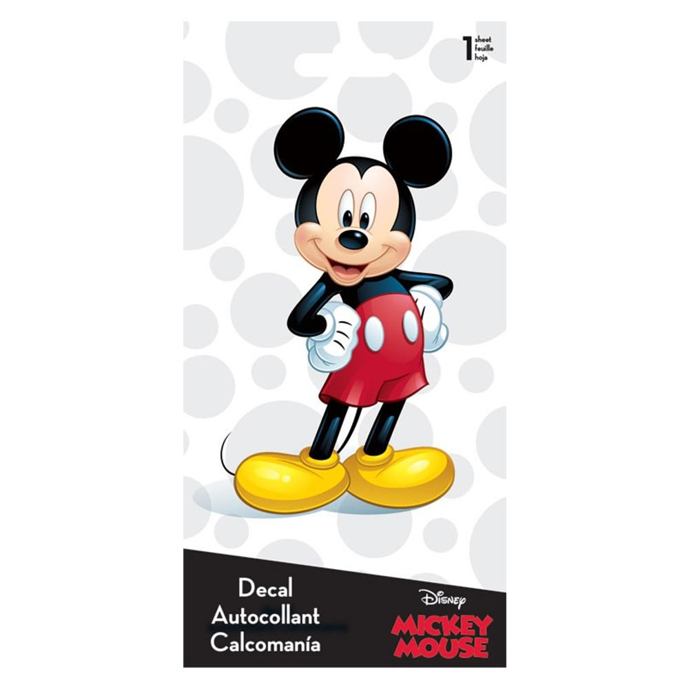 Mickey Mouse 4x8 Decal