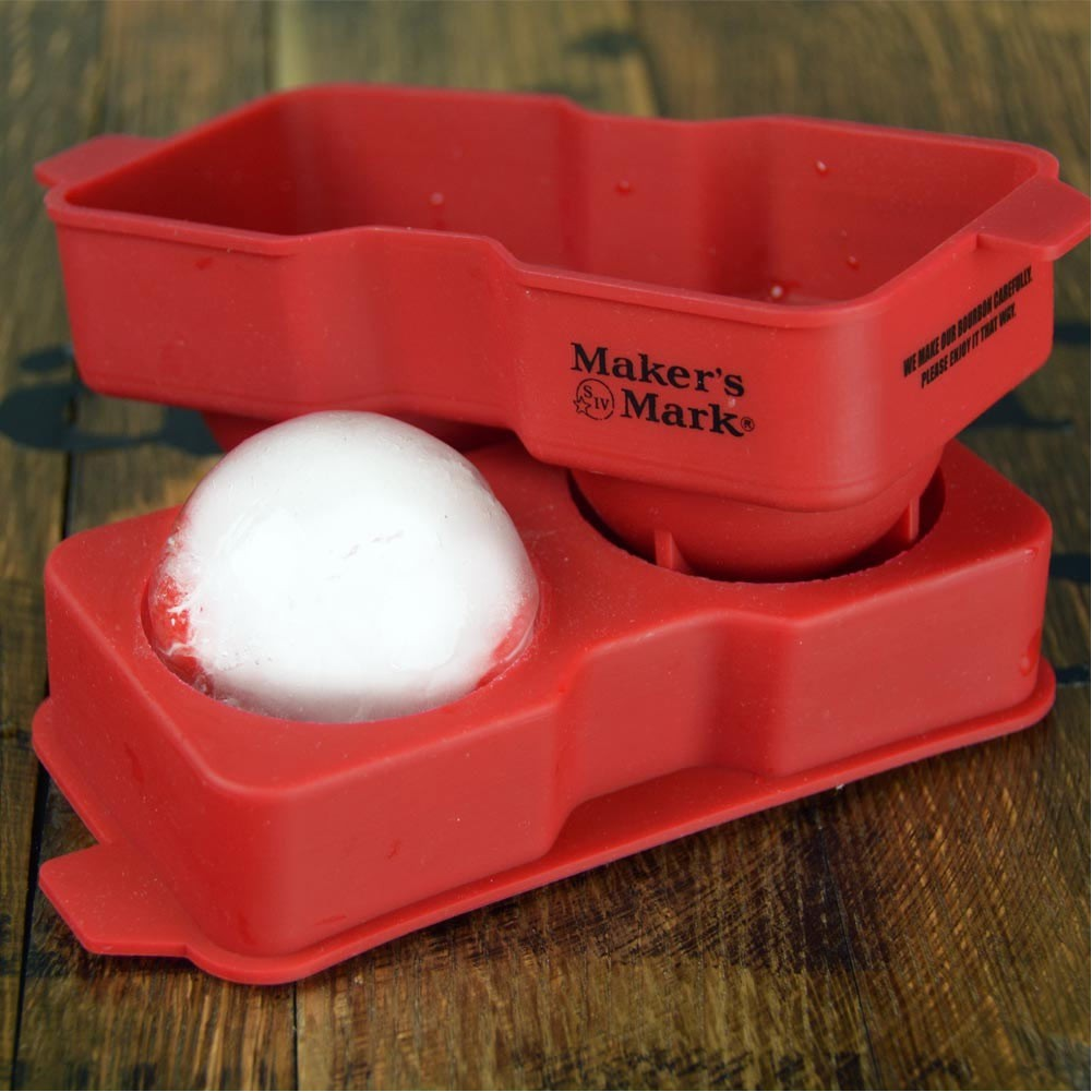 Maker's Mark Silicone Ice Ball Tray