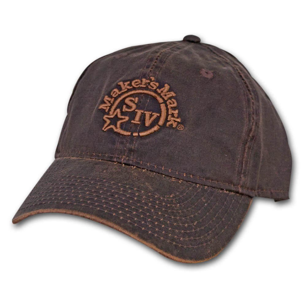Makers Mark Oil Cloth Hat - Faded Brown