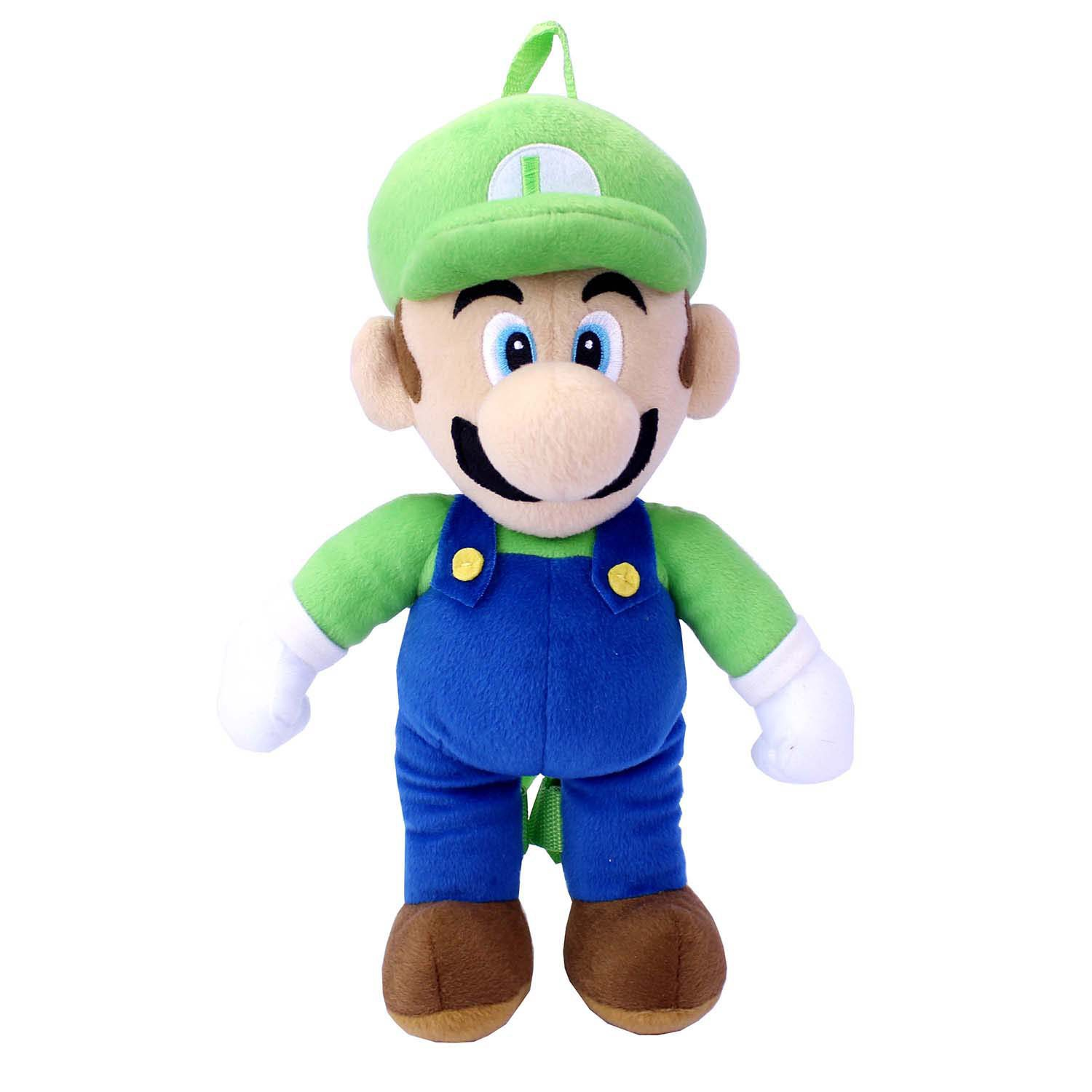 Super Mario Bros. Luigi Plush Backpack