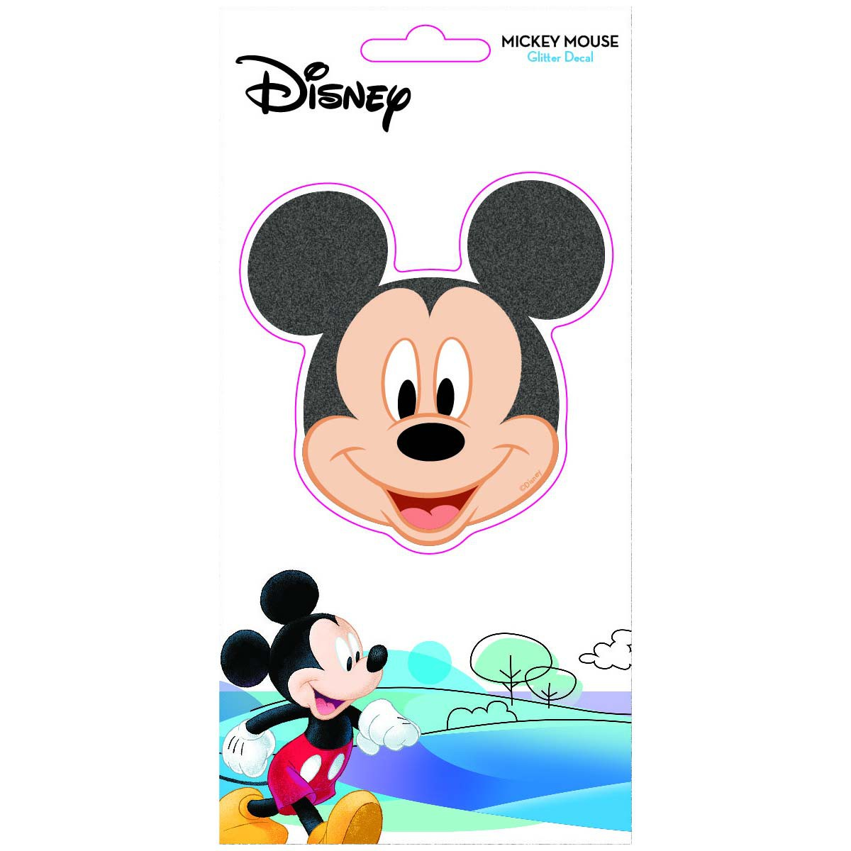 Disney Mickey Mouse Glitter Decal