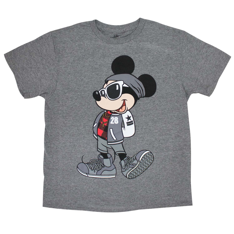 Mickey Mouse Urban Youth Boys 8-20 Gray T-Shirt