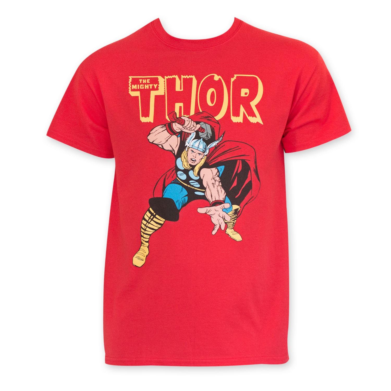 Thor Men's Classic Red Tee Shirt