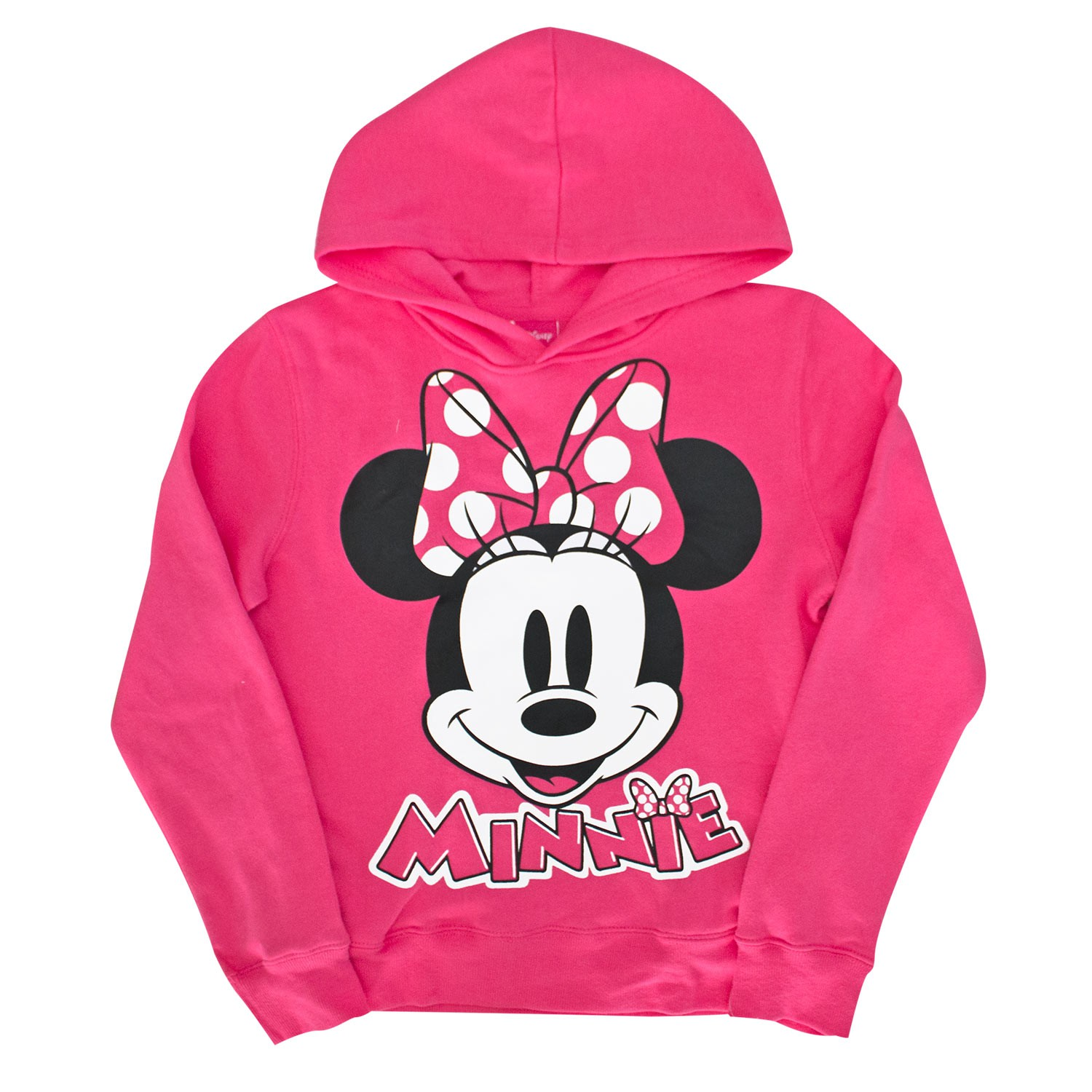 Minnie Mouse Pink Girl's Hoodie
