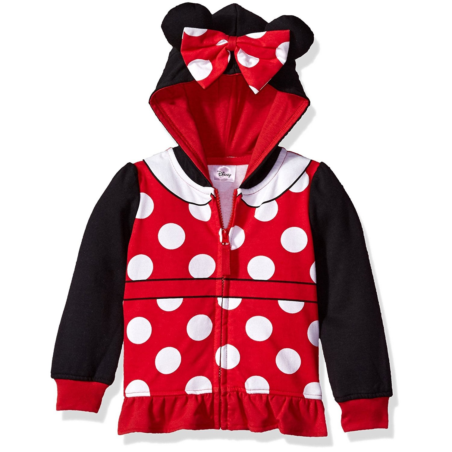 Minnie Mouse Costume Toddler Girls Hoodie Sweatshirt