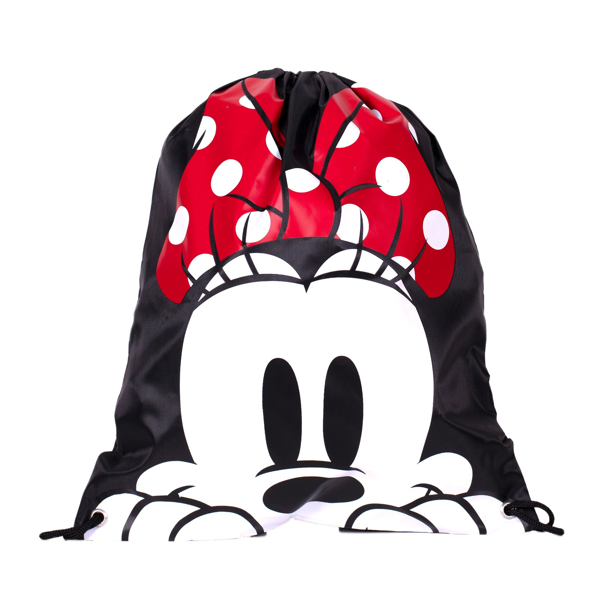 Minnie Mouse Face Drawstring Bag