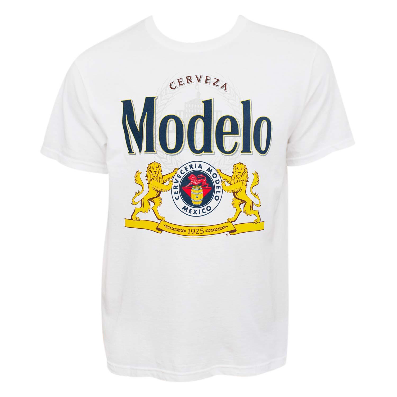 Modelo Cerveza Graphic Logo Tee Shirt