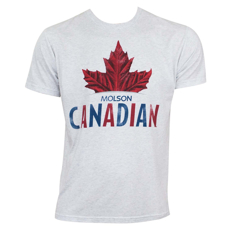 Molson Canadian Leaf Logo Tee Shirt