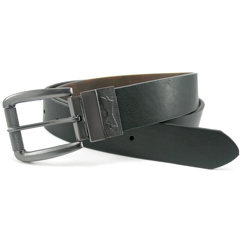 Budweiser Silver Buckle Reversible Belt