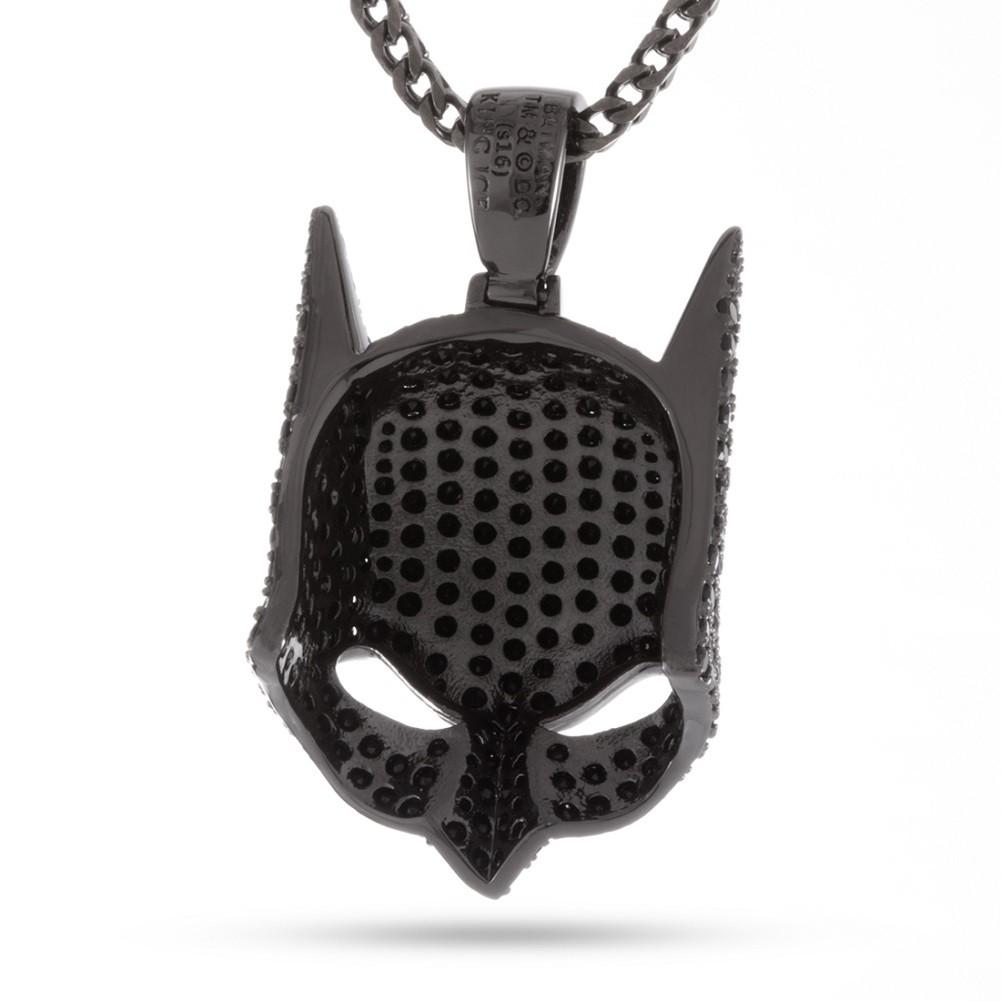 Batman Mask Black Necklace