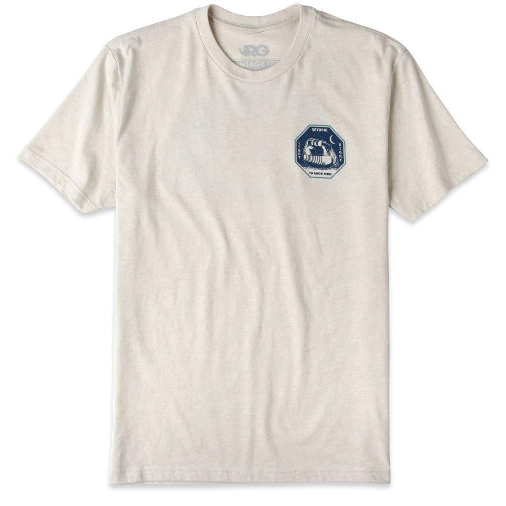 Natural Natty Light Vintage Style Men's Beige T-Shirt