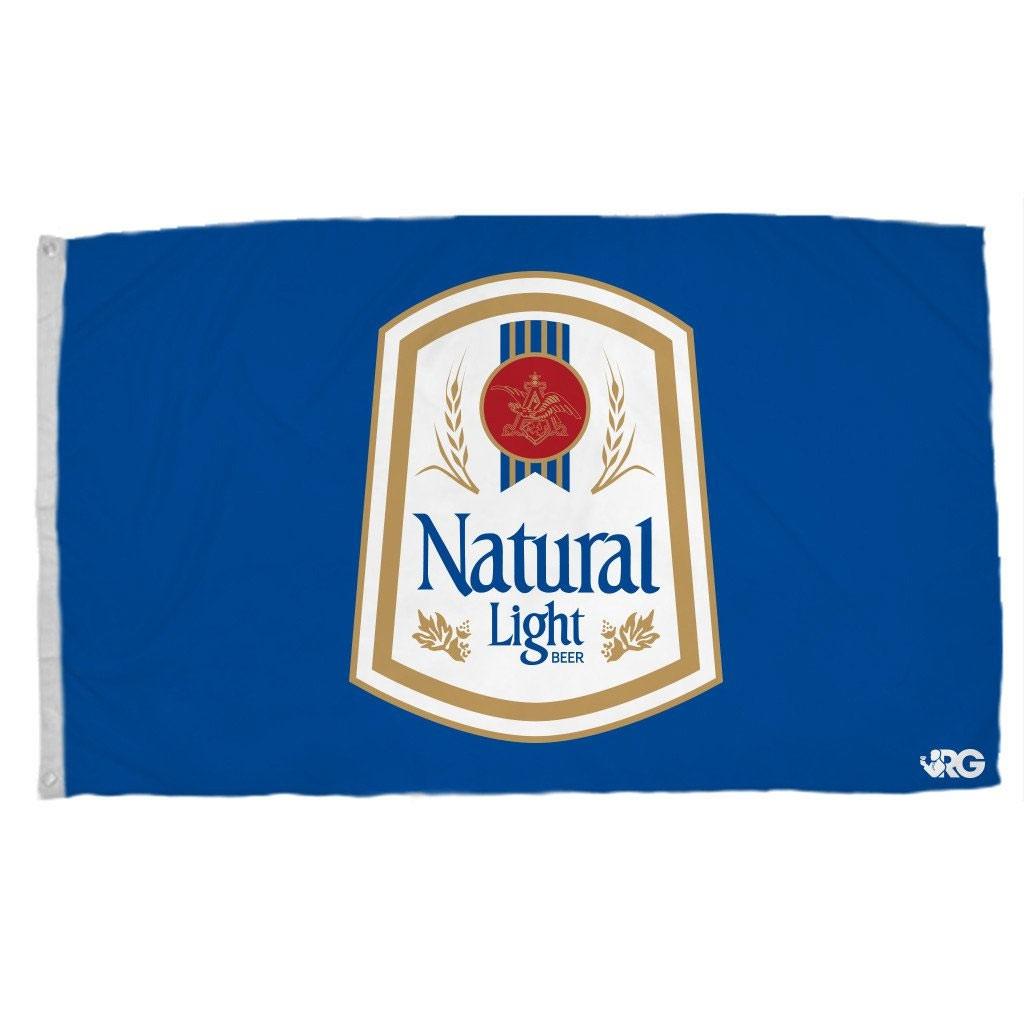 Natural Light Rowdy Gentleman Vintage Flag