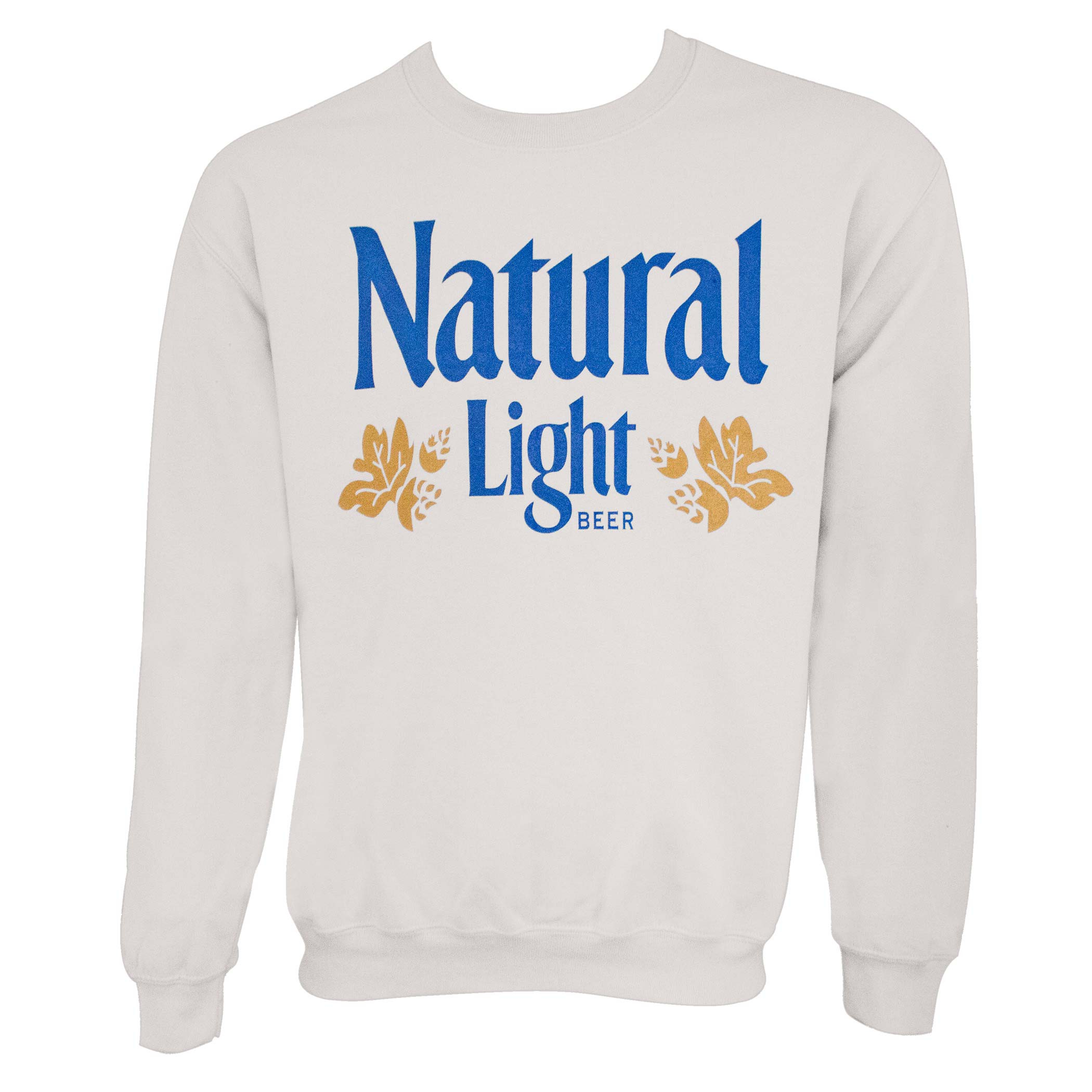 Natural Light Off-White Vintage Logo Crewneck Sweatshirt