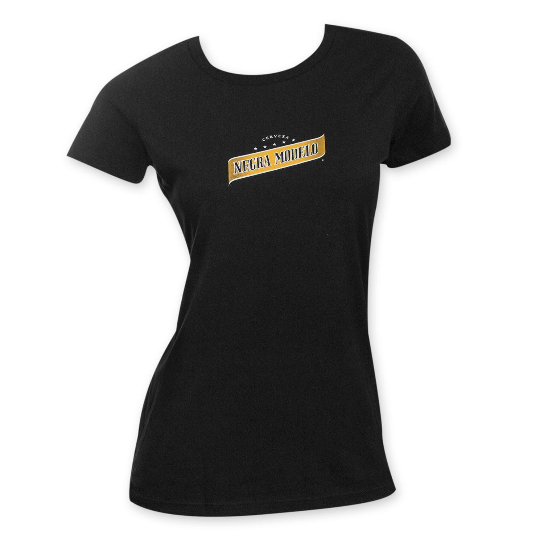 Negra Modelo Ladies Beer Logo Tee Shirt