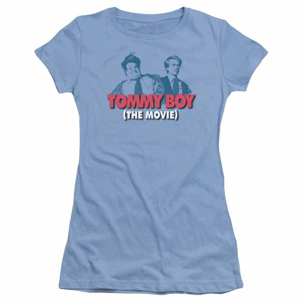 Tommy Boy Logo Blue Juniors T-Shirt