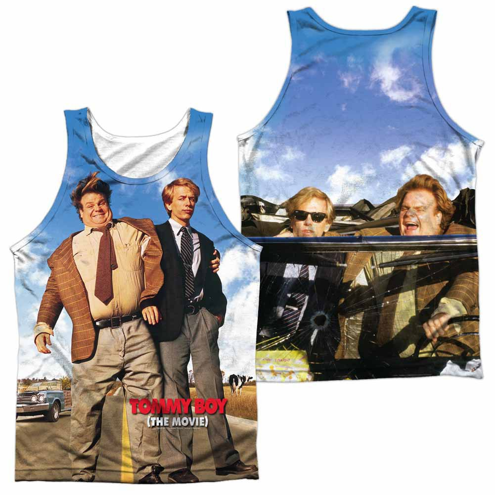 Tommy Boy Poster White Sublimation Tank Top