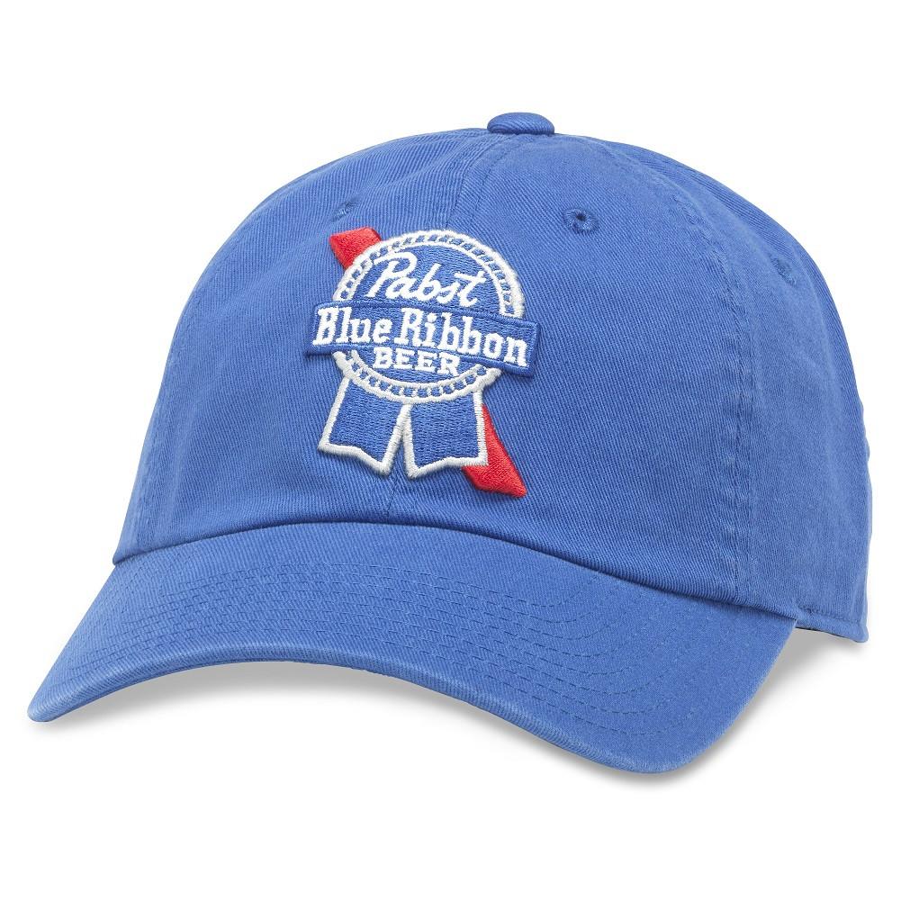 Pabst Blue Ribbon Beer Sky Blue Strapback Hat