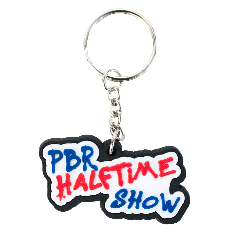Pabst Blue Ribbon PBR Keychain